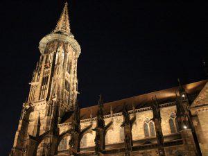 Beleuchtung des Freiburger Münsters